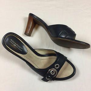 Rockport Leather sandal heels